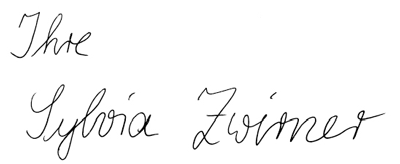 Sylvia Zwirner persönlich
